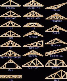 different type de ferme - Pergola Ideas Timber Architecture, Architecture Design, Shed Plans, House Plans, Roof Truss Design, Framing Construction, Roof Trusses, Roof Structure, Timber House
