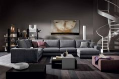 Natuzzi: Domino sofa - Great quality and very comfortable.