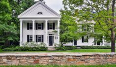 1840s Greek Revival house and a four-bedroom guesthouse