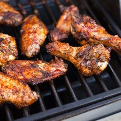 Learn how to grill chicken wings so that the skin is crispy and the meat is fall-off-the-bone.