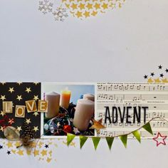 Layout mit dem #dpDezemberkit14 von Heidi Masthoff für www.danipeuss.de |websters pages | pepples | American crafts