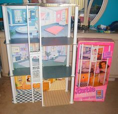 1987 Barbie Townhouse by Doll_Collector, via Flickr