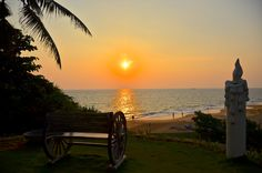 Take a seat and enjoy the sunset!