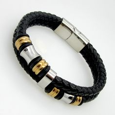 es.aliexpress.com store product 2015-Hot-Sell-Classical-Double-Layer-Handmade-Genuine-Leather-Weaved-Man-Bracelets-Fashion-New-Magnet-Clasp 1047288_32368140378.html?spm=2114.12010408.1000023.4.KFYZbH