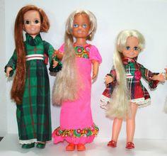 Crissy Doll Lot Pristine Vintage Velvet Brandi Christmas Look Around Ideal Toys   eBay