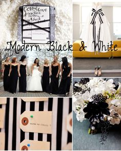 modern black and white