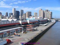 Erato Street Cruise Terminal New Orleans Louisiana