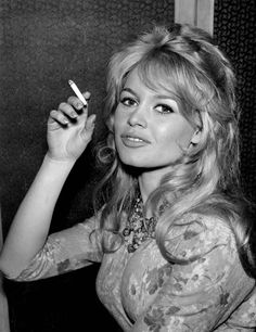 Smoking Brigitte by judacoregio, via Flickr
