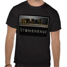 Stonehenge Men's T-shirt available at www.zazzle.com/americanbannedtshirt