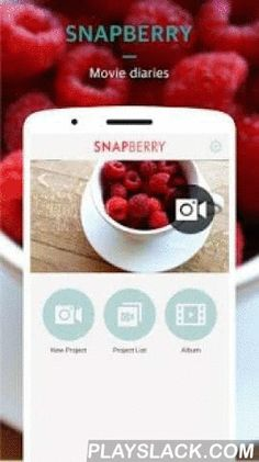 SNAPBERRY Video Editor & Maker  Android App - playslack.com , SNAPBERRY is Free Video Editor and Maker. With SNAPBERRY, you can capture every beautiful moments into high quality video clips like a movie.Every captured clips can are reusable when you create a new video. [ Key Features ]**** Simple Way Video Record ****Recording video with 6 sec, 12sec, 24 sec format.A couple of shots is enough to make a video. **** Easy Video Editor **** storyboarding editing, easy to change order of video…