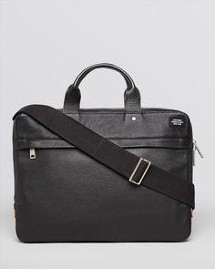 388.00$  Buy here - http://viiho.justgood.pw/vig/item.php?t=127jz8f43511 - Jack Spade Mason Davis Slim Leather Briefcase