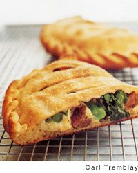 Ricotta Calzones with Sausage and Broccoli Rabe by Cook's Illustrated ...