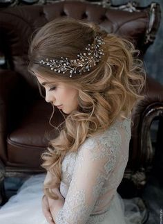 Wedding Hairstyles For Long Hair 2018 #weddinghairstyles