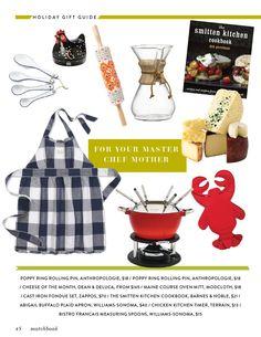 For your master chef mother... #matchbookholidaygiftguide