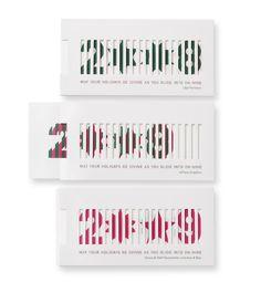 Lenticular Holiday Card