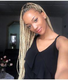 Lovely Golden Briads @golden_poupee - https://blackhairinformation.com/hairstyle-gallery/lovely-golden-briads-golden_poupee/