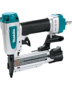 The Makita Pin Nailer offers an array of features and powerful performance in a compact size. The has a side, drop-in loading magazine that accepts standard headless pins sized Makita Tools, Finish Nailer, Nail Gun, Trim Work, Electronic Recycling, Recycling Programs, Reversible Belt, Air Tools, Atelier