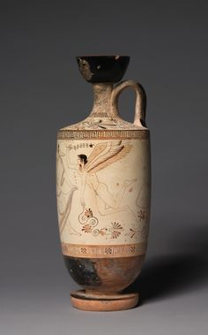 The Atalanta Lekythos (Funerary Oil Jug), ca. 500-490 BC. Attributed to Douris. Located in The Cleveland Museum of Art.