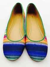 Nine West Rainbow Colored Flats NW OUR LOVE NEW Size 6