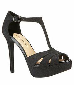 Gianni Bini Kelli T-Strap Platform Sandals | Dillard's Mobile