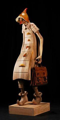 .carved wood