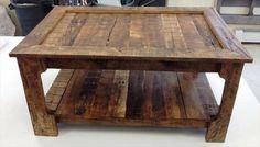 pallet coffee diy table