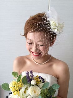 画像 Offbeat Bride, Wedding Images, Marie, Wedding Hairstyles, Short Hair Styles, Hair Beauty, Bridal, Naver, Weddings