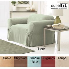 sure fit smooth suede washable loveseat slipcover taupe loveseat brown solid