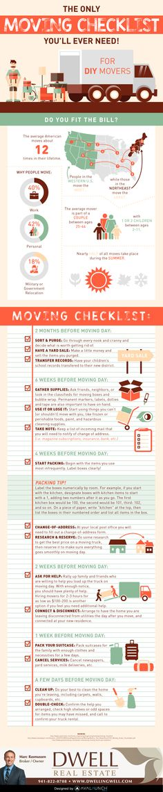 The Only Moving Checklist You Will Ever Need!