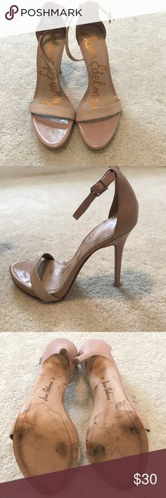 Sam Edelman nude pumps Gently used Sam Eldeman nude pumps. Only worn once to an out door wedding. Has an one inch platform which make them very comfortable. Very versatile for all outfits. Size 8.5 Sam Edelman Shoes Heels