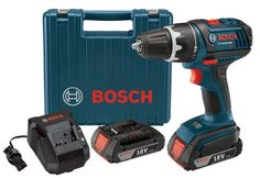 Bosch DDS181-02 18-Volt Lithium-Ion 1/2-Inch Compact Tough Drill/Driver Kit with 2 High Capacity Batteries, Charger and Case http://suliaszone.com/bosch-dds181-02-18-volt-lithium-ion-12-inch-compact-tough-drilldriver-kit-with-2-high-capacity-batteries-charger-and-case/