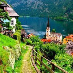 Village of Hollstatt, Austria