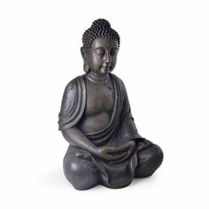 Let tranquility be the centerpiece of your garden or meditation room with the Alpine Meditating Buddha Garden Statue . This detailed meditating Buddha. Buddha Meditation, Meditating Buddha Statue, Sitting Buddha, Buddha Zen, Buddha Statues, Sitting Meditation, Buddha Sculpture, Meditation Garden, Gautama Buddha