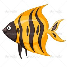 Buy Cartoon Character Fish by RAStudio on GraphicRiver. Cartoon Character Fish Isolated on White Background. Bois Intarsia, Baby Cartoon Characters, Cartoon Fish, Person Cartoon, Cartoon Memes, Fish Drawings, Cartoon Drawings, Cartoon Art, Wood Fish