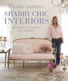 Romantic florals reclining against pure white linen, ruffles of muslin skirting a bed base against bleached floorboards, the deep comfort of a simple nest of fluffy towels… This is Rachel Ashwell's si