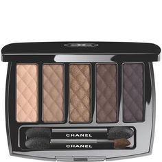 Shop makeup and cosmetics by CHANEL, and explore the full range of CHANEL makeup for face, eyes, lips, and the perfect nail for a radiant look. Luxurious makeup essentials by CHANEL. Chanel Eyeshadow, Eyeshadow Palette, Eye Palette, Eyeshadow Set, Chanel No 5, Chanel Beauty, Chanel Makeup, All Things Beauty, Makeup Collection
