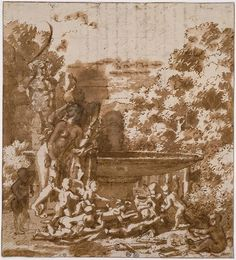 Nicolas Poussin | Vénus à la fontaine | c. 1657