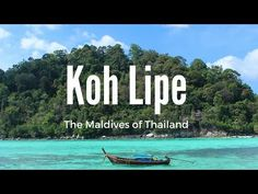 Koh Lipe: the Maldives of Thailand - YouTube