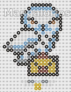 Hedwig - Harry Potter Perler Bead Pattern