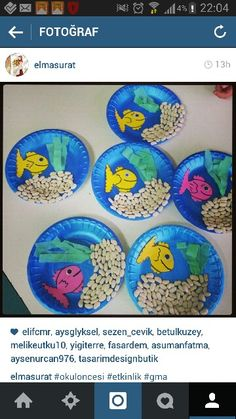 Printing Education Teachers Shapes Activities For Seniors Crafts Paper Plates Referral: 9750944171 Ocean Kids Crafts, Sea Crafts, Summer Crafts For Kids, Fish Crafts, Plate Crafts, Preschool Activities, Art For Kids, Diy And Crafts, Arts And Crafts