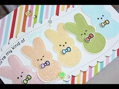 """Nichol Spohr Magouirk: Simon Says Stamp March Card Kit 