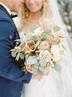 Blush, Cream, Ivory Wedding Bouquet