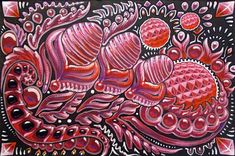 Dragon Eggs, art - Michael Garfield Visionary Art (michaelgarfieldart.com)