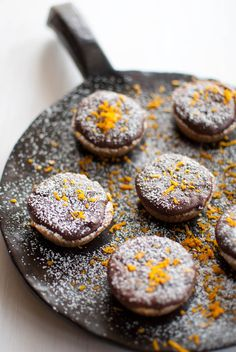 Scandi Home: Rainy day treats - Walnut crusted chocolate-ricotta cups