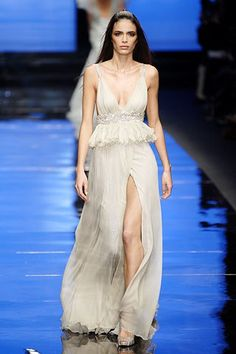 Elie Saab Spring 2007 Couture Fashion Show - Marie Meyer
