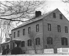 Rockingham, circa 1975. Rockingham was General George Washington's final Revolutionary War headquarters for about two and a half months in 1783, while the Continental Congress was meeting in Princeton. The home was built in 1710 and enlarged in 1760. Discover more history @ www.thehistorygirl.com
