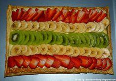 Escribo mi blog: Una veraniega tarta de frutas