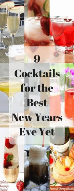 9 Cocktails for the Best New Years Eve Yet