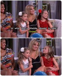 mackenzie , melissa and maddie