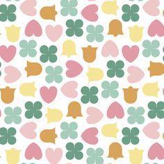 spring wedding confetti fabric by sef on Spoonflower - custom fabric